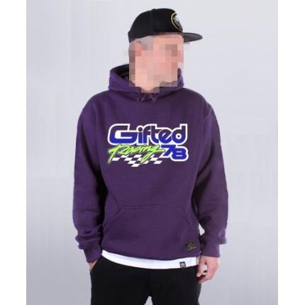Толстовка Gifted78 фиолетовая