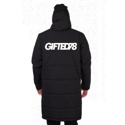 Зимняя куртка Gifted78 черная