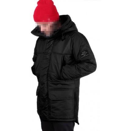 Зимняя куртка Gifted черная