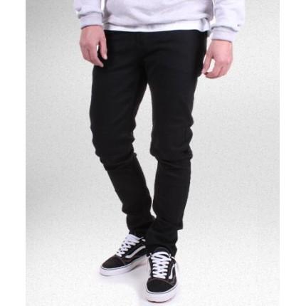 Брюки Gifted черные джинсовые