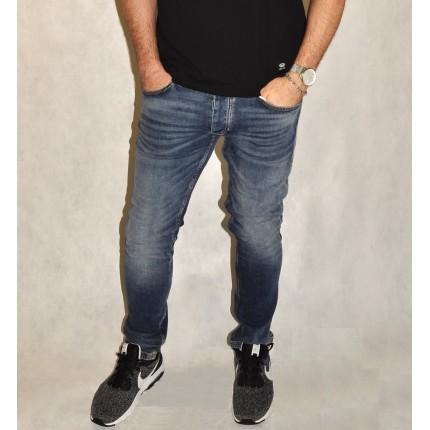 Брюки Strellson  синие джинсовые