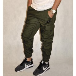 Утепленные брюки Cool Penguin #1713.23F оливковые
