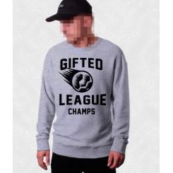 Свитшот Gifted78 #414 серый