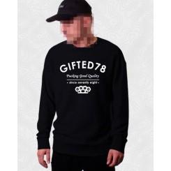 Свитшот Gifted78 #419 черный