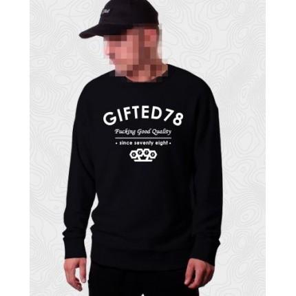 Черный свитшот Gifted