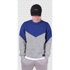 Свитшот Gifted78 #551 серый/синий