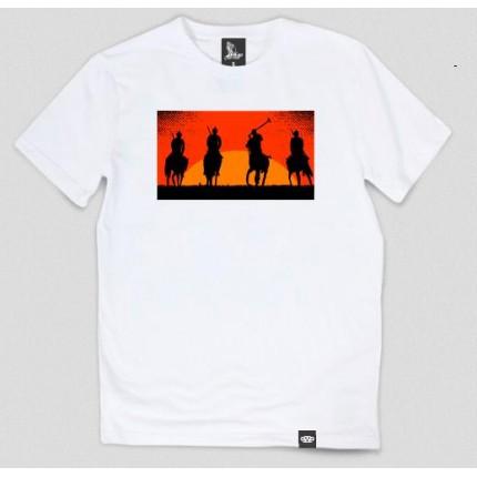 Белая футболка Gifted с принтом