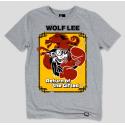 Серая футболка Gifted с принтом