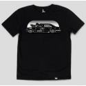 Черная футболка Gifted78 с принтом