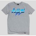 Серая футболка Gifted78 с принтом