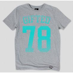 Футболка Gifted78 #366 серая