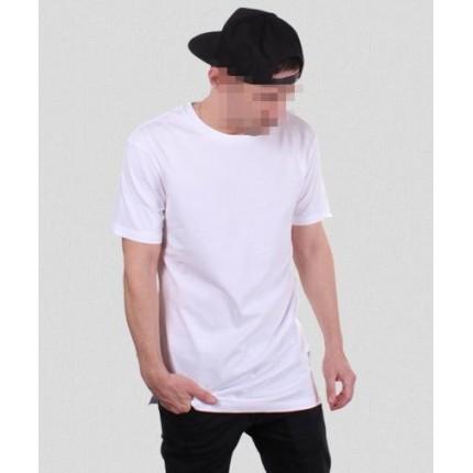 Белая удлиненная футболка Gifted