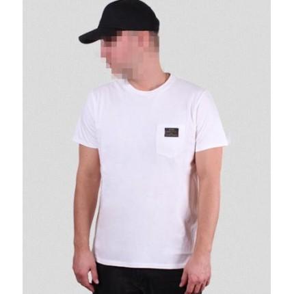 Белая футболка Gifted78 с карманом
